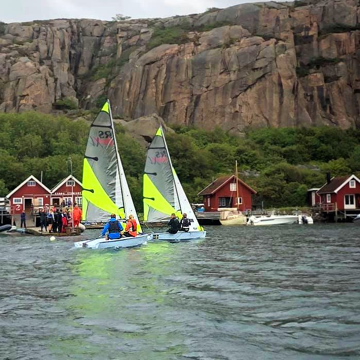 Två RS feva under matchrace